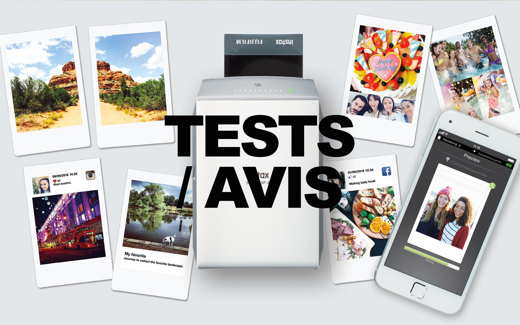 Tests & Avis
